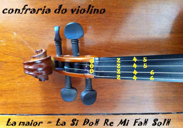 la maior paint no violino