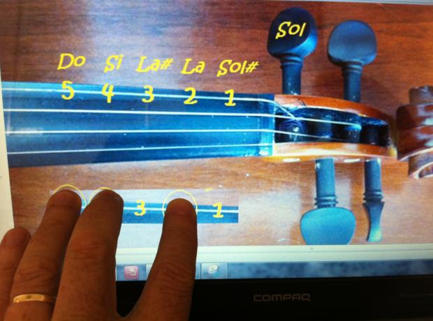 violino padrão 245